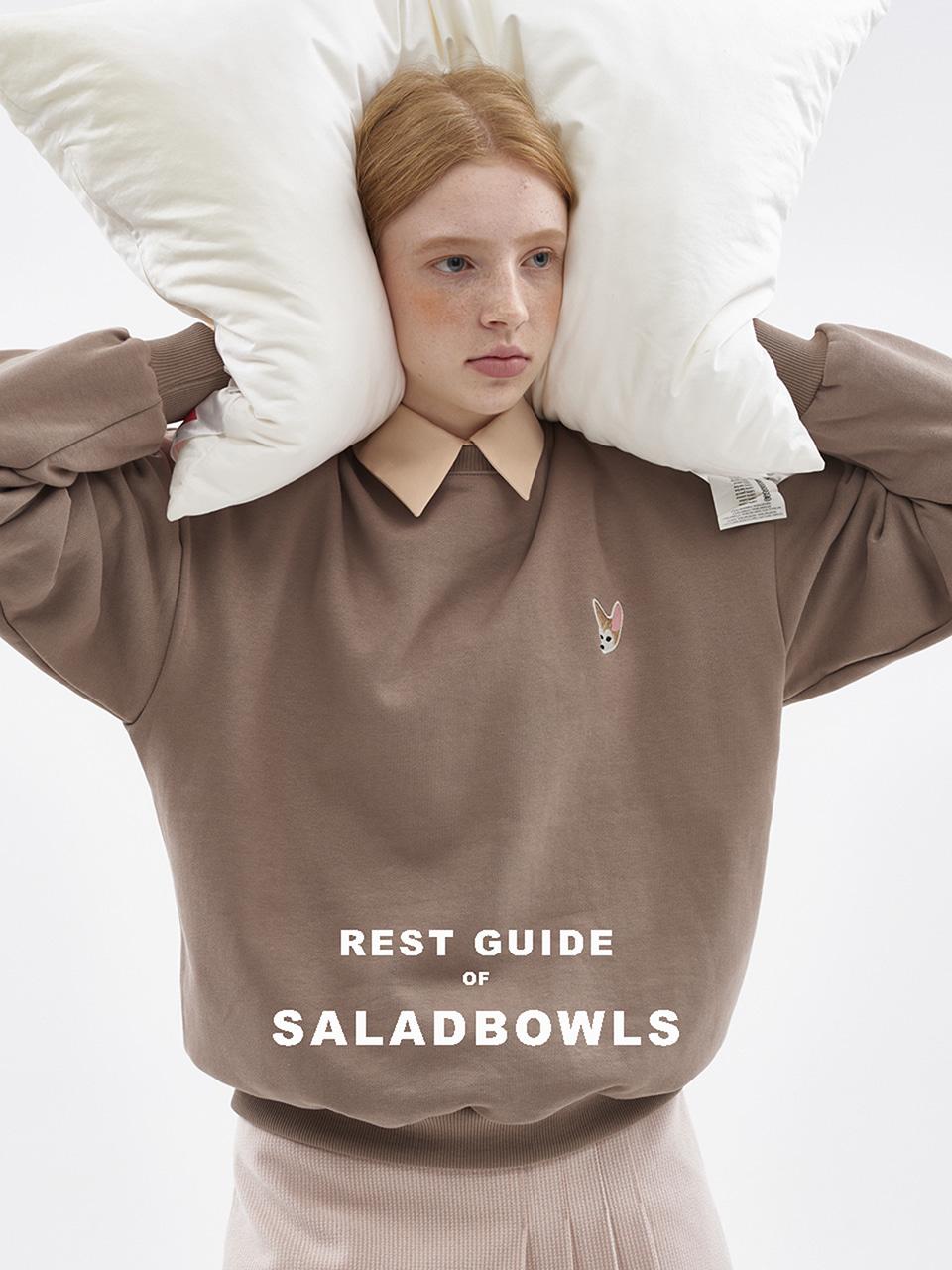 샐러드볼즈(SALAD BOWLS) SB MINI BELT BAG [WHITE]